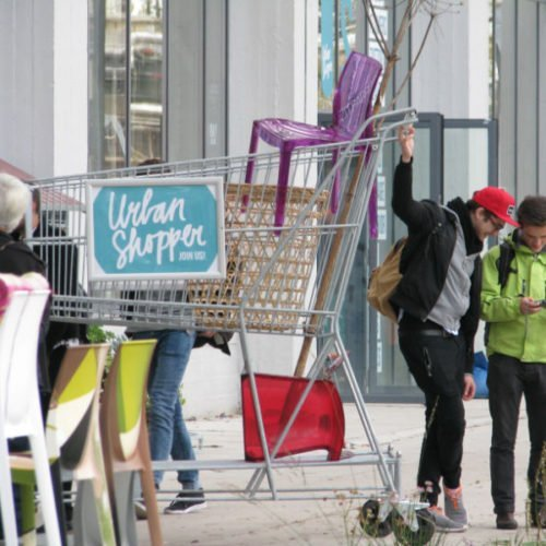 urban shopper strijp S reclame supermarkt dutchlite